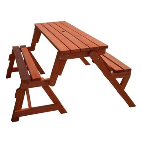Magnificent Merry Garden Interchangeable Picnic Table And Garden Bench Gmtry Best Dining Table And Chair Ideas Images Gmtryco