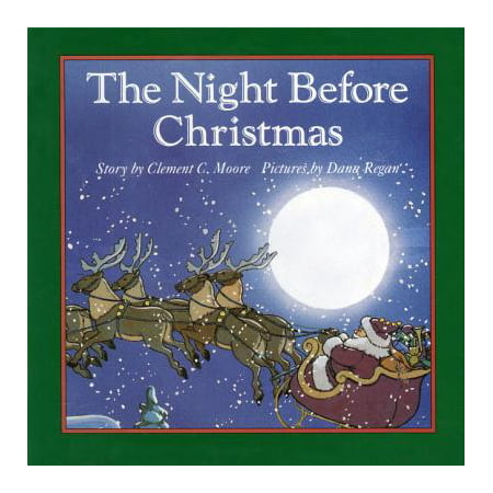 The Night Before Christmas Board Book - Night Before Christmas Halloween Ideas