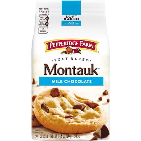 Pepperidge Farm Montauk Milk Chocolate Soft Baked Cookies