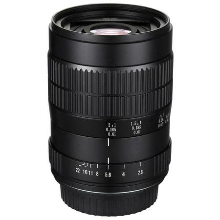 Oshiro 60mm f/2.8 2:1 LD UNC Ultra-Macro Lens for Olympus OM-D E-M1, E-M5, E-M10, PEN E-PL7, E-P5, E-PL5, E-PM2, E-P1, E-P2, E-PL1, E-PL2 and other Micro Four Thirds Digital Cameras (EOS-M43