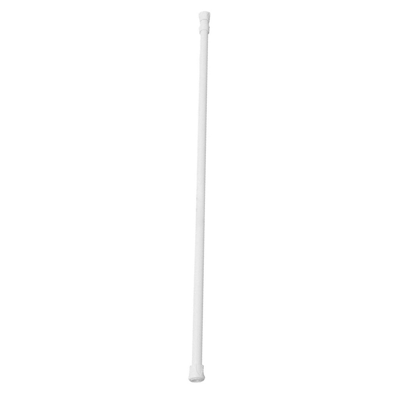 Spring Extendable Telescopic Pole Clothing Curtain Rail Net Pole Rods J8O3