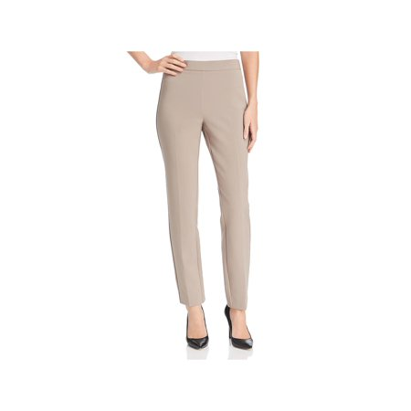 Donna Karan Womens Stretch Mid-Rise Straight Leg (Brand Names Of Clothing That Start With G)