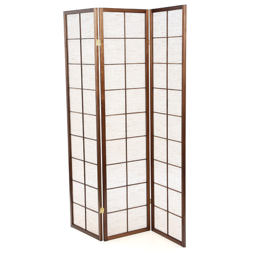 Wildon Home 70'' x 51'' Shoji 3 Panel Room Divider by Windward Furniture