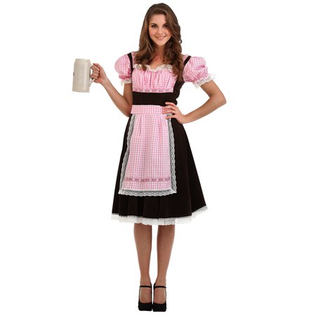 Boo! Inc. Bavarian Beer Maid Halloween Costume for Women | Oktoberfest Dress Up