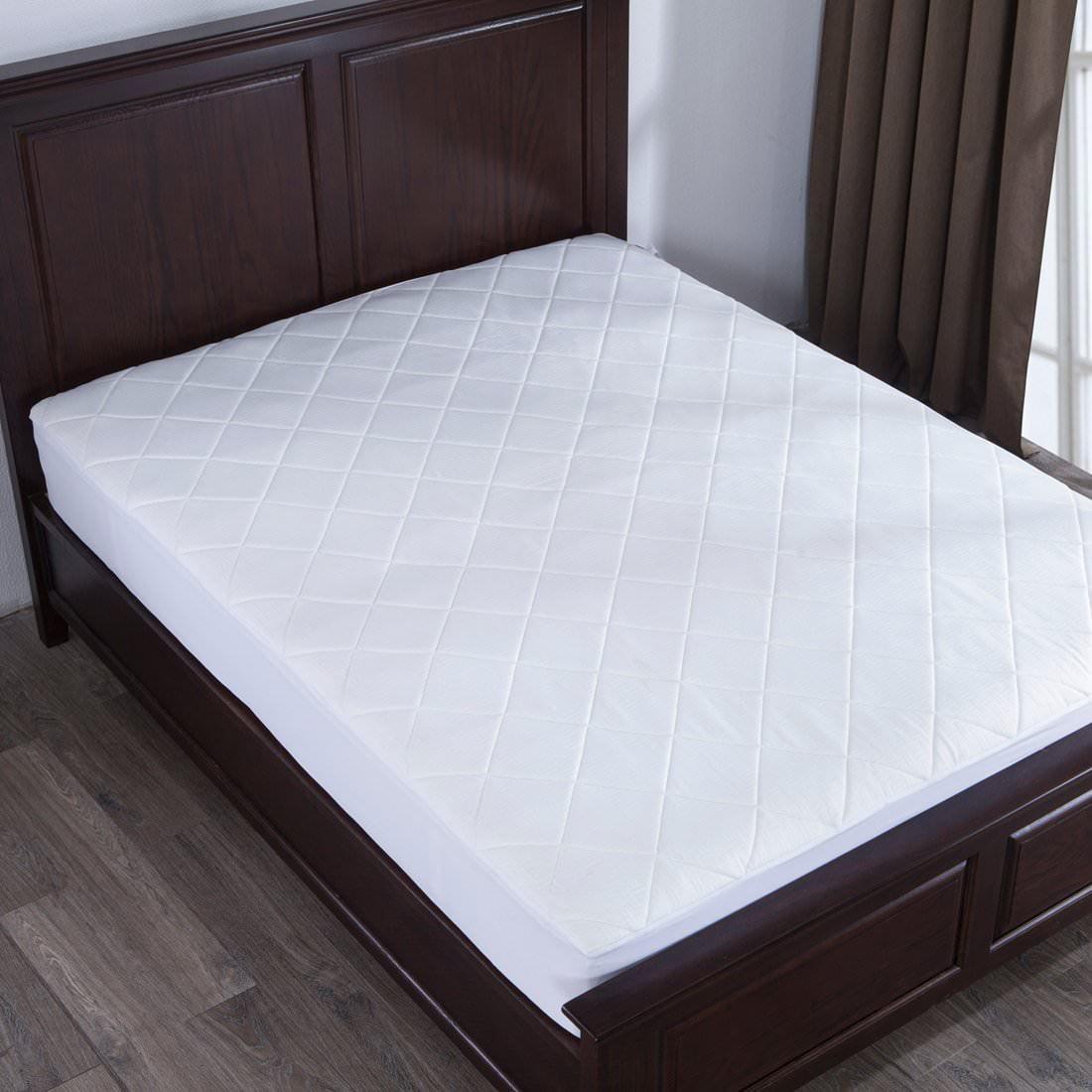 Puredown Memory Foam Mattress Pad Bed Topper, Diamond Quilting, King Size