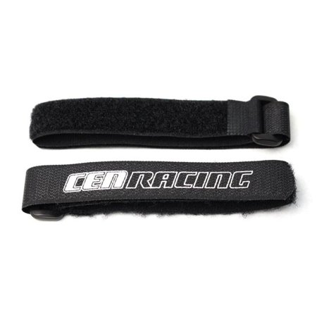 Cen Racing Differential - CEN Racing CEGCKR0406 Long Battery Straps Spare Parts Set, Black - 2 Piece