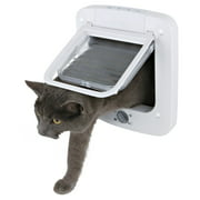 Trixie Pet Products 4 Way Plastic Cat Door with Rotary Lock