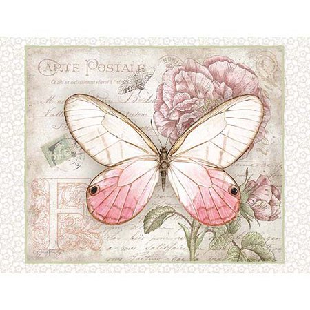 Lang Carte Postale Butterflies Deluxe Note Card Set