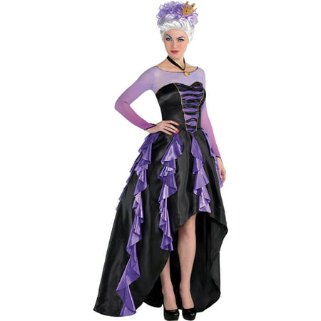 Suit Yourself The Little Mermaid Ursula Costume Couture for Women, Includes a Dress and Accessories - Couture Costume D'halloween