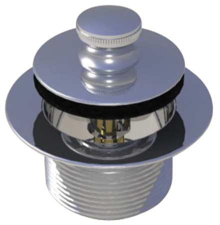 "WATCO Drain Stopper,Dia. 2-7/8"",Brass ,Chrome 58301-CP"