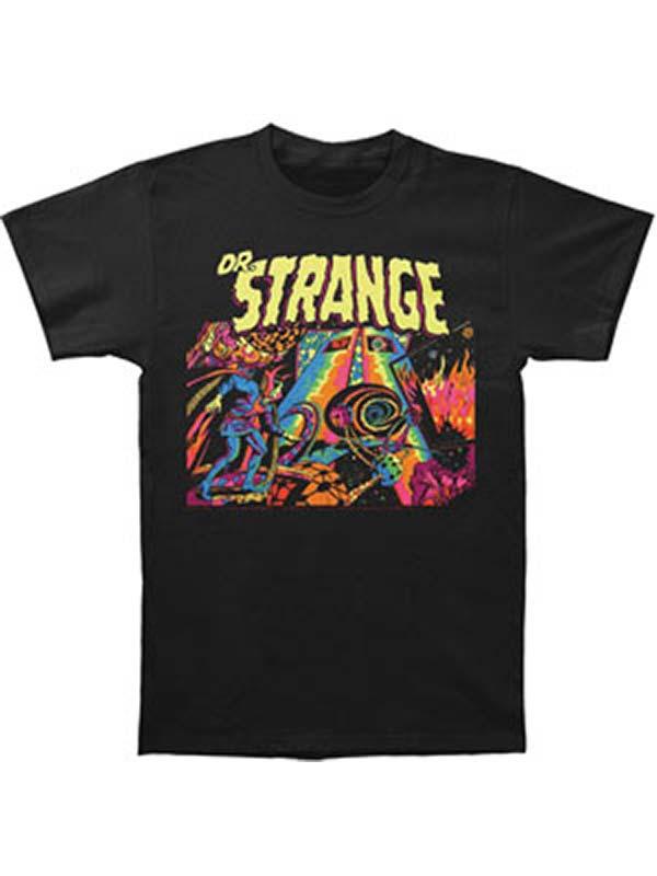 Doctor Strange Men's  Dr. Strange Slim Fit T-shirt Black