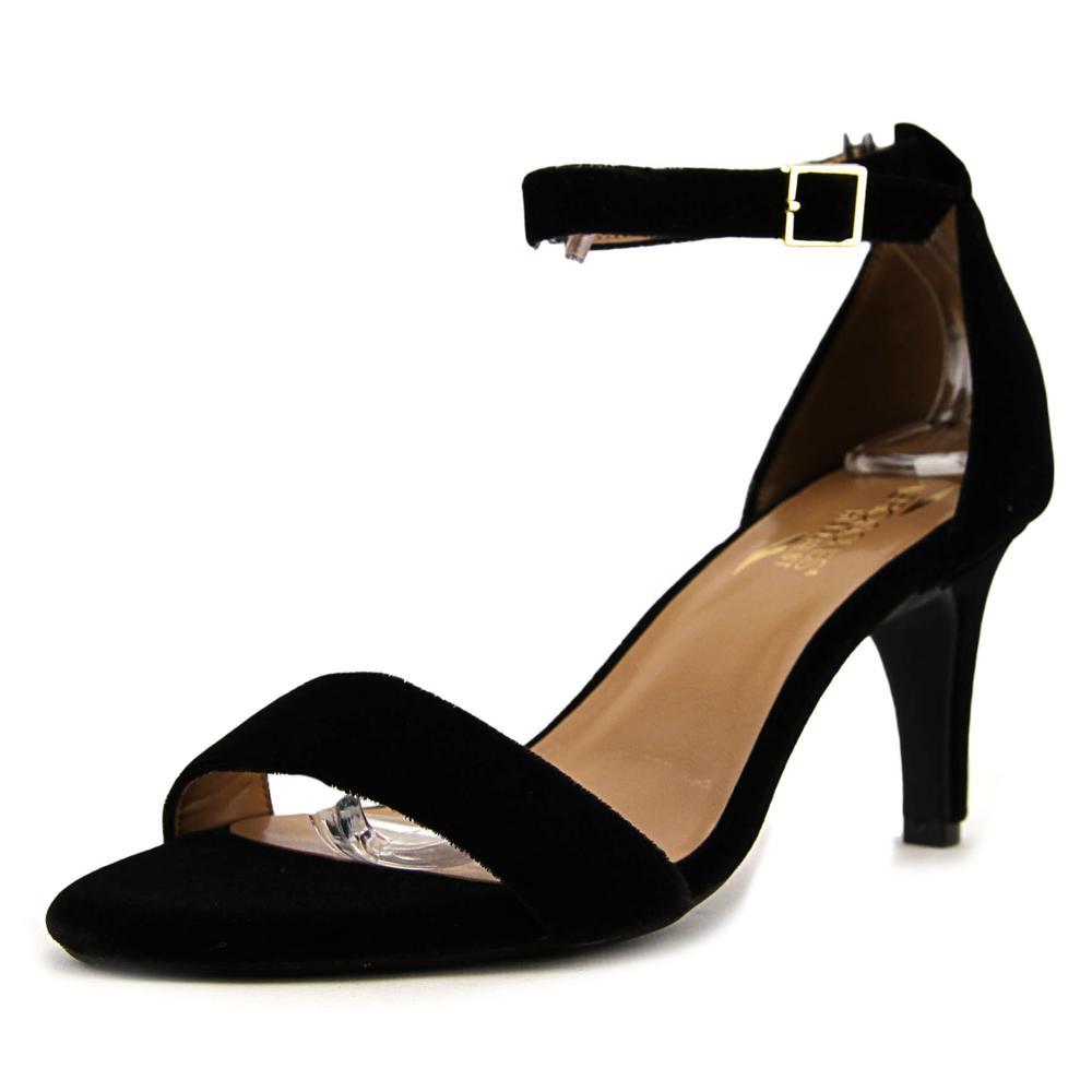 Aerosoles Laminate Women Open Toe Canvas Sandals by Aerosoles
