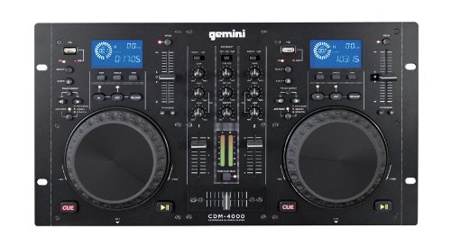 Gemini Cdm-4000 CD MP3 USB DJ Media Player by Gemini