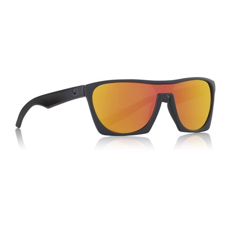 Dragon Alliance Classy Matte Black with Orange Ion Lens Sunglasses (Dragon Lenses)