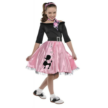 Sock Puppet Halloween Costume (Miss Sock Hop Child Costume -)