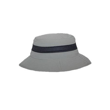 OUTDOOR STYLE FLAP BUCKET HAT W/ CIBA SWEATBAND - Olive - image 2 de 2