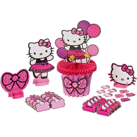 Hello kitty deluxe table decorations for Table exterieur hello kitty