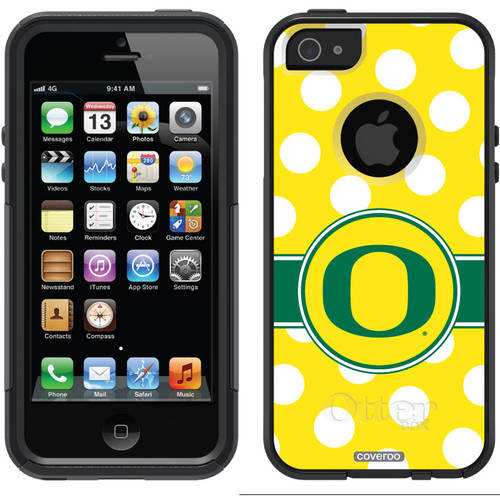 Oregon Polka Dots Design on OtterBox Commuter Series Case for Apple iPhone 5/5s
