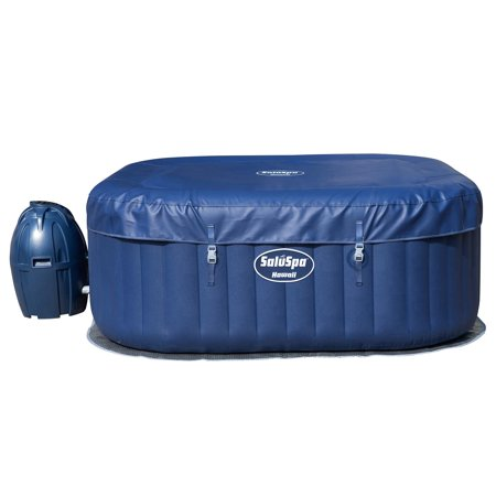 Bestway SaluSpa Hawaii AirJet 6-Person Inflatable Spa Hot Tub with Chemical