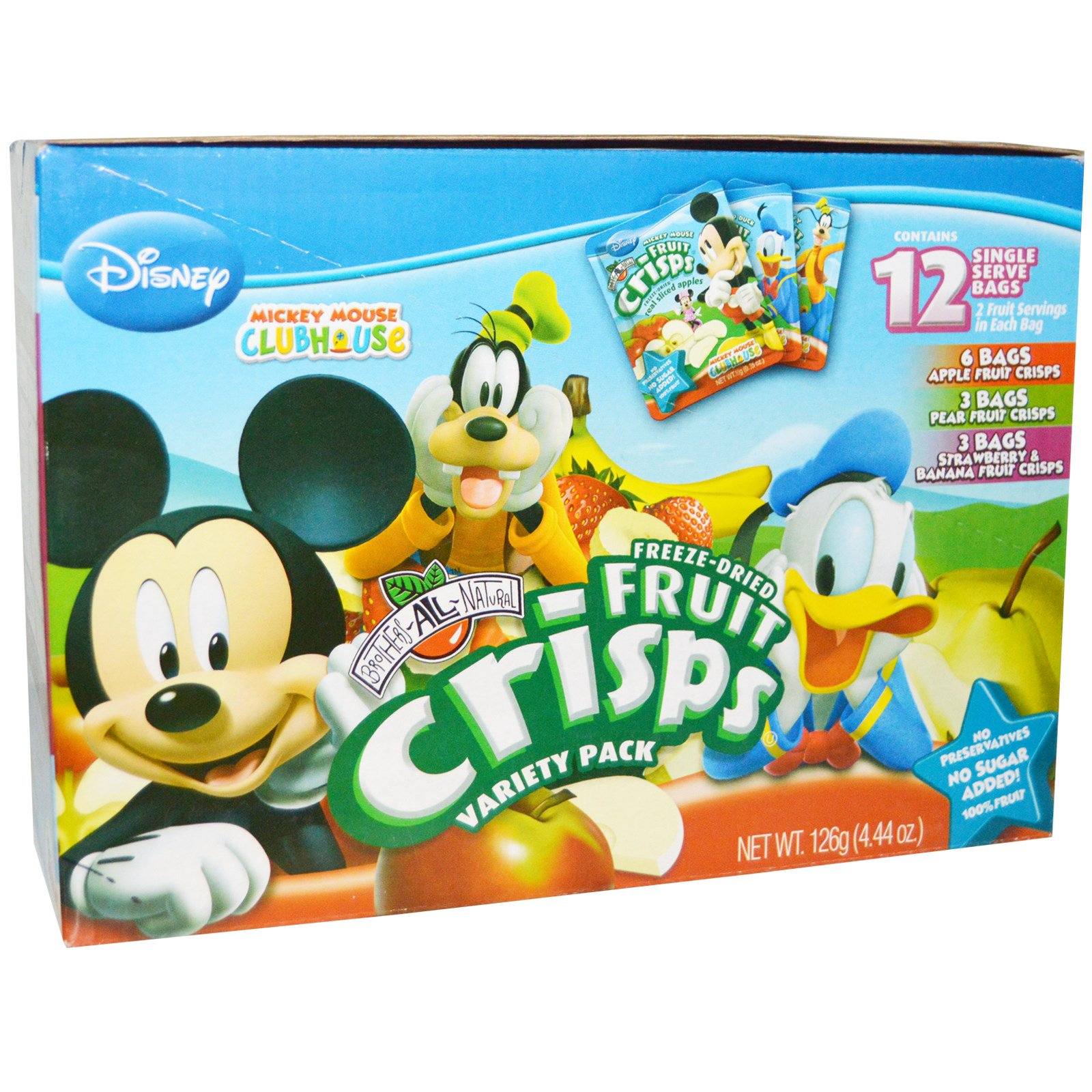 Brothers-All-Natural, Disney, Freeze-Dried-Fruit Crisps, ...