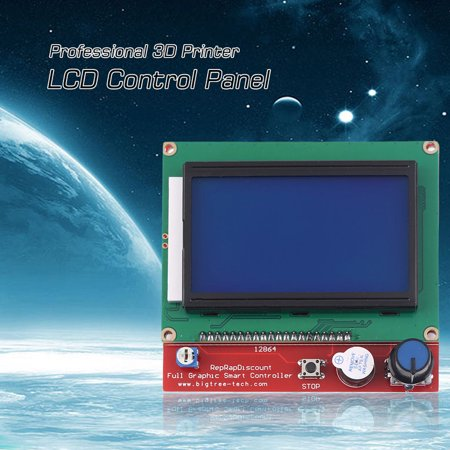 Professional 3D Printer Smart Controller RAMPS1 4 LCD 12864 LCD