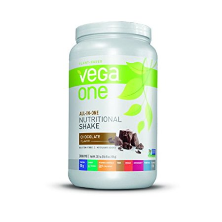 Vega One All-In-One Plant Based Protein Powder, Chocolate, 1.93 lb, 19