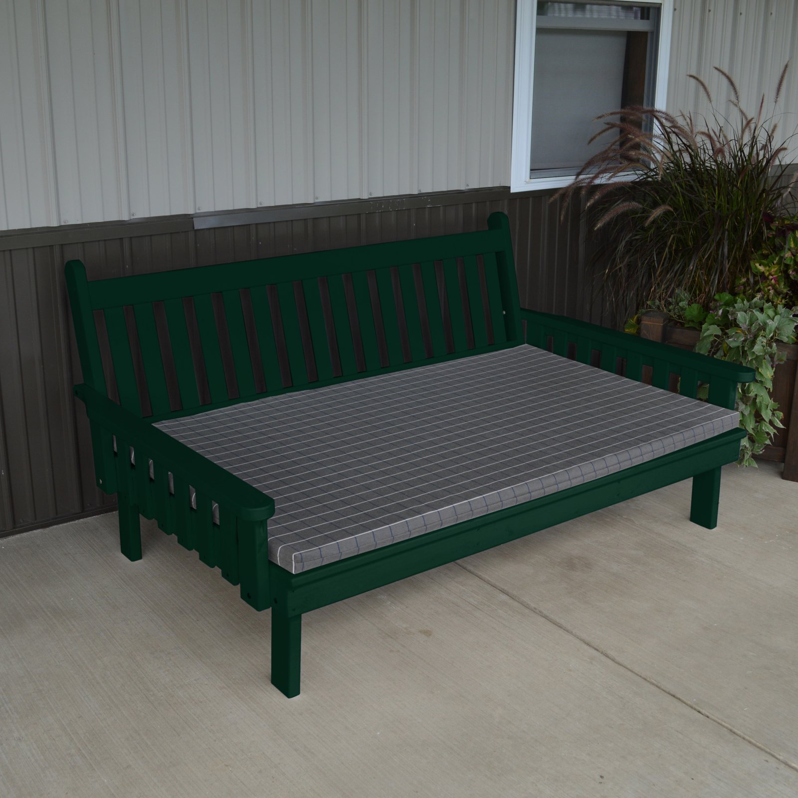 A & L Furniture Yellow Pine Traditional English Daybed