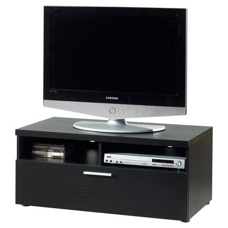 "Tvilum Hayward Black Woodgrain TV Stand for TVs up to 37"""