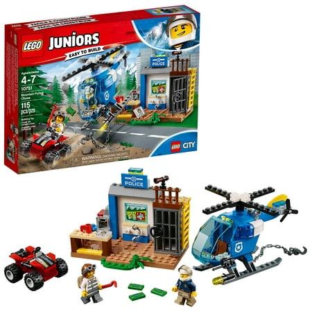 LEGO 4+ Mountain Police Chase 10751