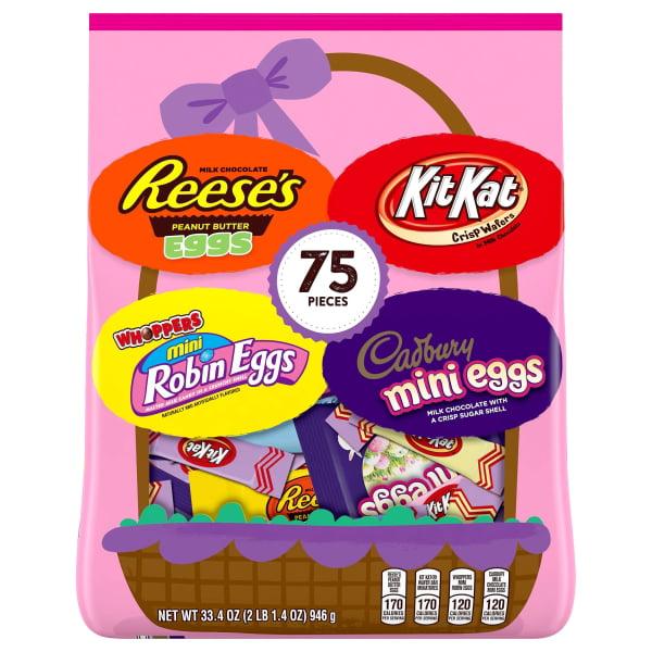 Hershey's Assorted Candy 75 ea