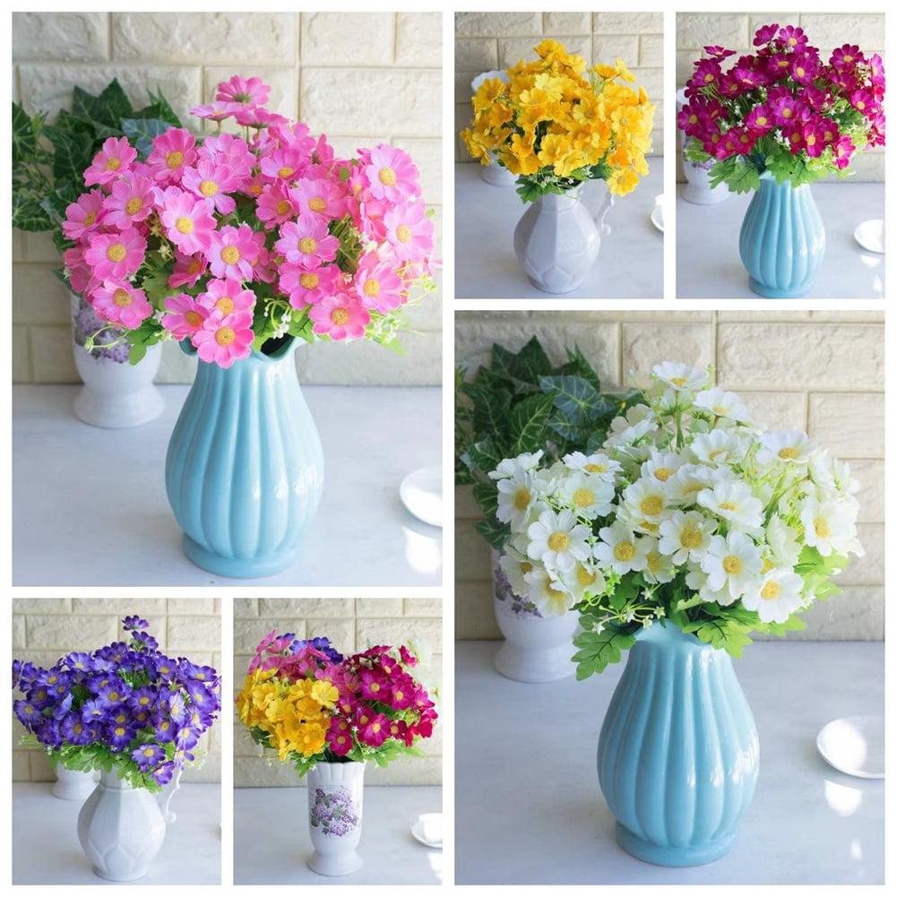 Heepo 1 Bouquet Artificial Flowers Plant Daisy Simulation Wedding Party Home Decor