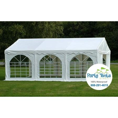 20 x 20 Premium PVC Party Tent Pop Up Canopy Shelter