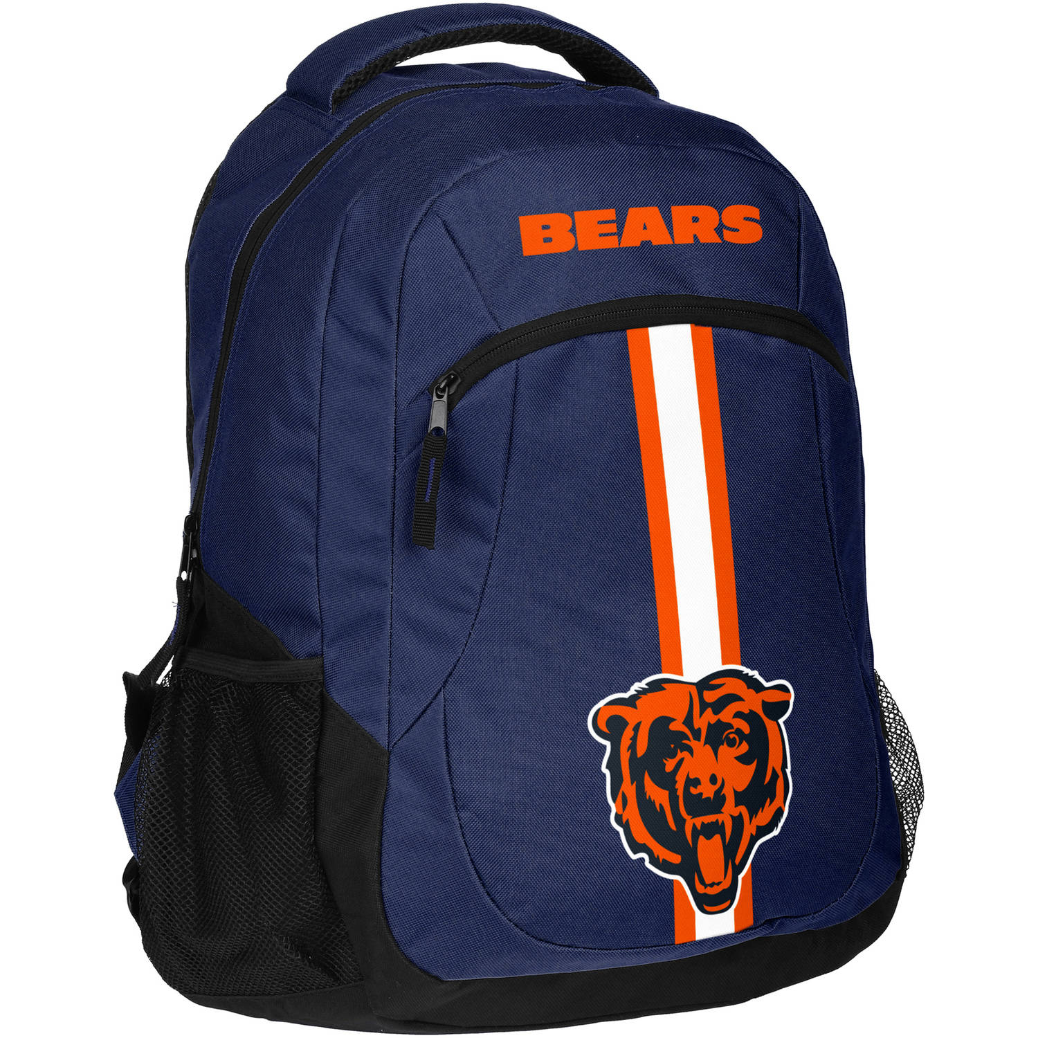 Forever Collectibles NFL Chicago Bears Action Stripe Logo Backpack