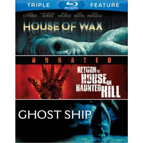House Of Wax (2005) / Return To House On Haunted Hill / Ghost Ship (Blu-ray) (Widescreen)