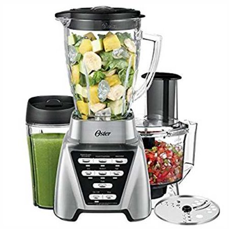 Oster Pro 1200 Blender 2-in-1 with Food Processor Attachment and XL Personal Blending