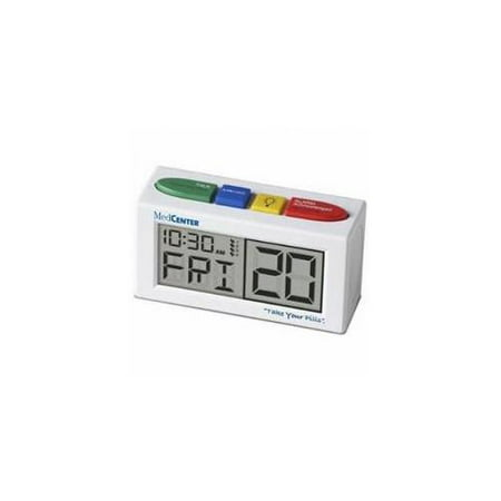 MedCenter 4 Alarm Talking reminder clock