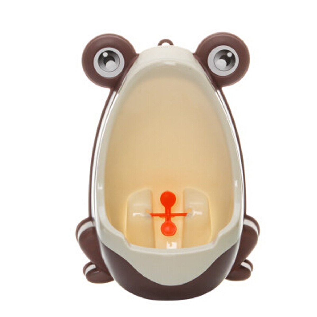 Meigar Cute Frog Potty Training Urinal Toilet Urine Train Froggy Potty for Children Kids Toddler Baby Boys Portable Plastic Male Urinals Pee Trainer Funny Aiming Target