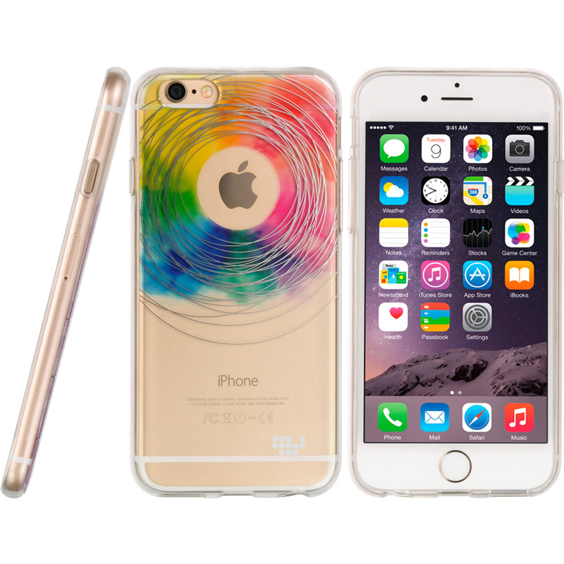 iPhone 6/6S Case Tpu Water Color Imd Case Love Wins