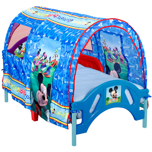 Disney Mickey Toddler Tent Bed  sc 1 st  Walmart & Disney Mickey Toddler Tent Bed - Walmart.com