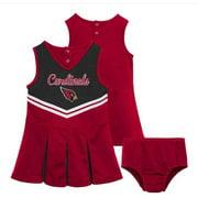 NFL Arizona Cardinals Girls Cheerleader Set