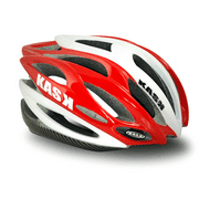 Kask K.10 Dieci Road Bicycle Helmet RED / WHITE 53 - 61cm Adult Unisex One Size