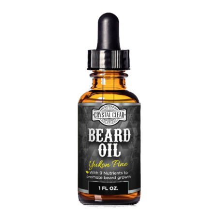 CCS Beard Oil Growth for Men, Leave-In Conditioner Softener for Dry and Sensitive Facial Hair, Yukon Pine Scented 1 fl. oz - Thor Facial Hair