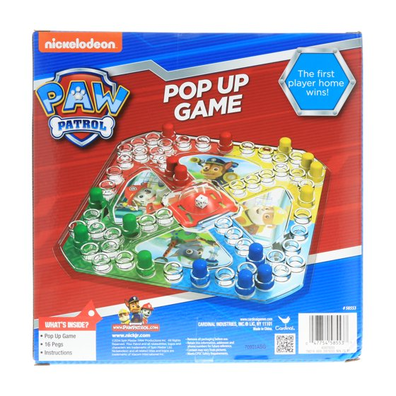 Licensed Kids Board Games Pop Up Game Boys Girls Educational Gift 3
