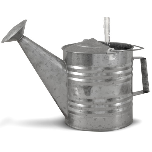 Universal Home and Garden B-8 Fantasy Fountains Galvanized Watering Can Fountain by Universal Home and Garden