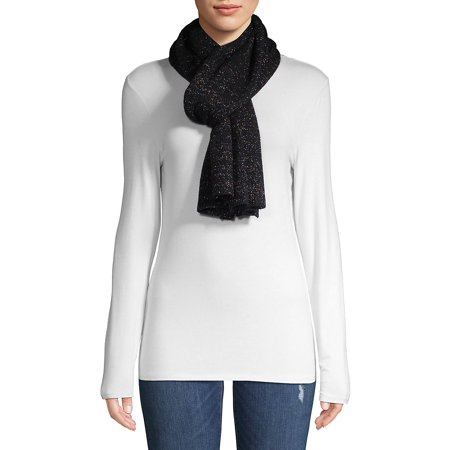 Lightweight Cashmere-Blend Jersey Scarf - Led Light For Clothing