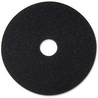 3M, MMM08374, Black Stripping Pads, 5 / Carton, Black