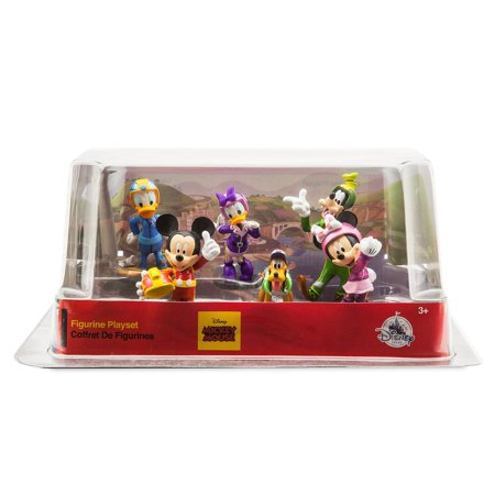 Disney Store Mickey And The Roadster Racers Figure Play Set