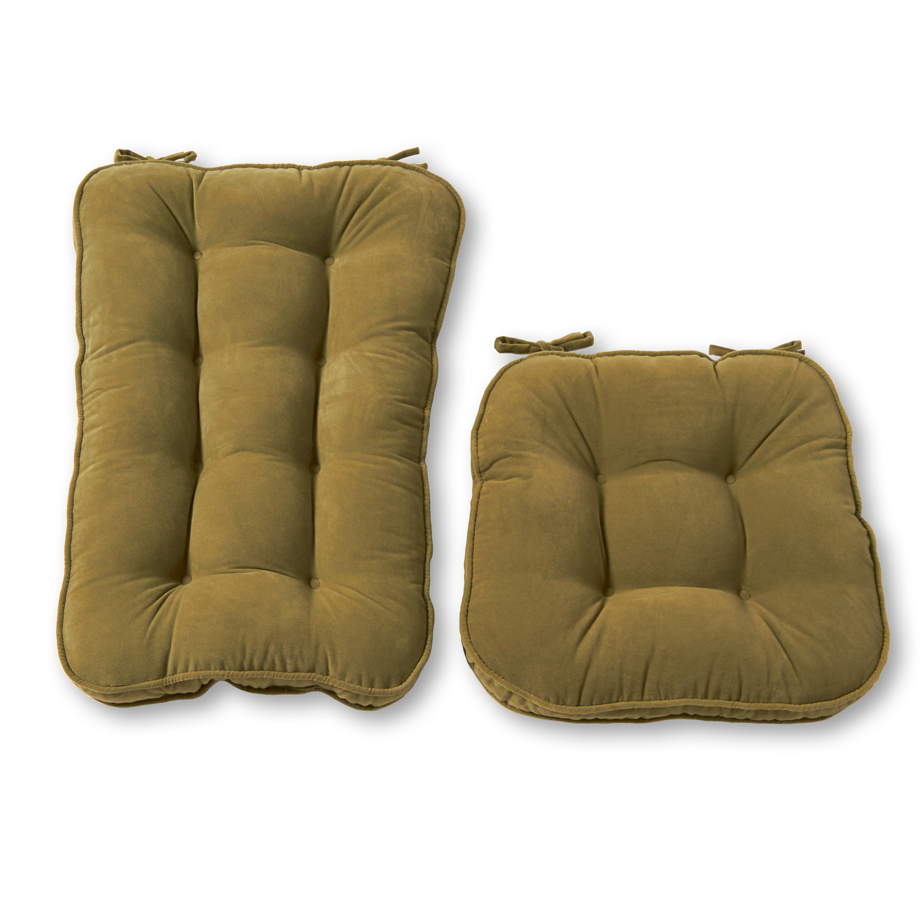 Hyatt Jumbo 2 Piece Rocking Chair Cushion Set