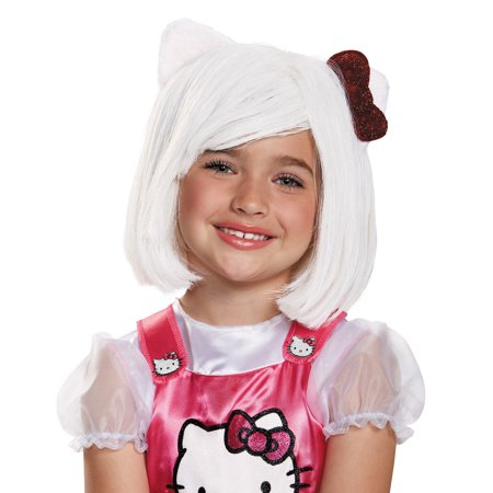 Hello Kitty Wig Child Halloween Accessory