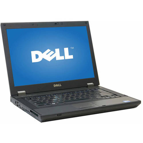 "Refurbished Dell Silver 14.1"" E5410 Laptop PC with Intel Core i3 Processor, 4GB Memory, 320GB Hard Drive and Windows 7 Professional"